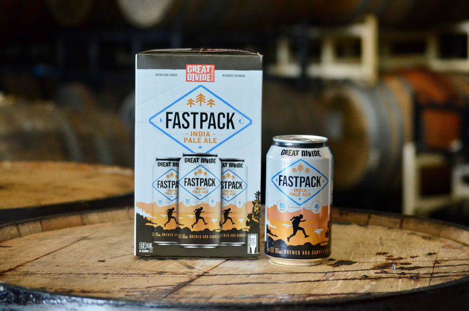 Fastpack beer from Great Divide