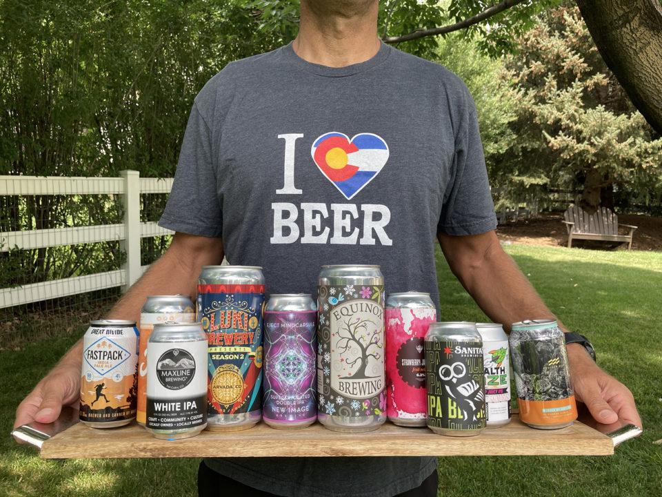 An assortment of Colorado IPAs