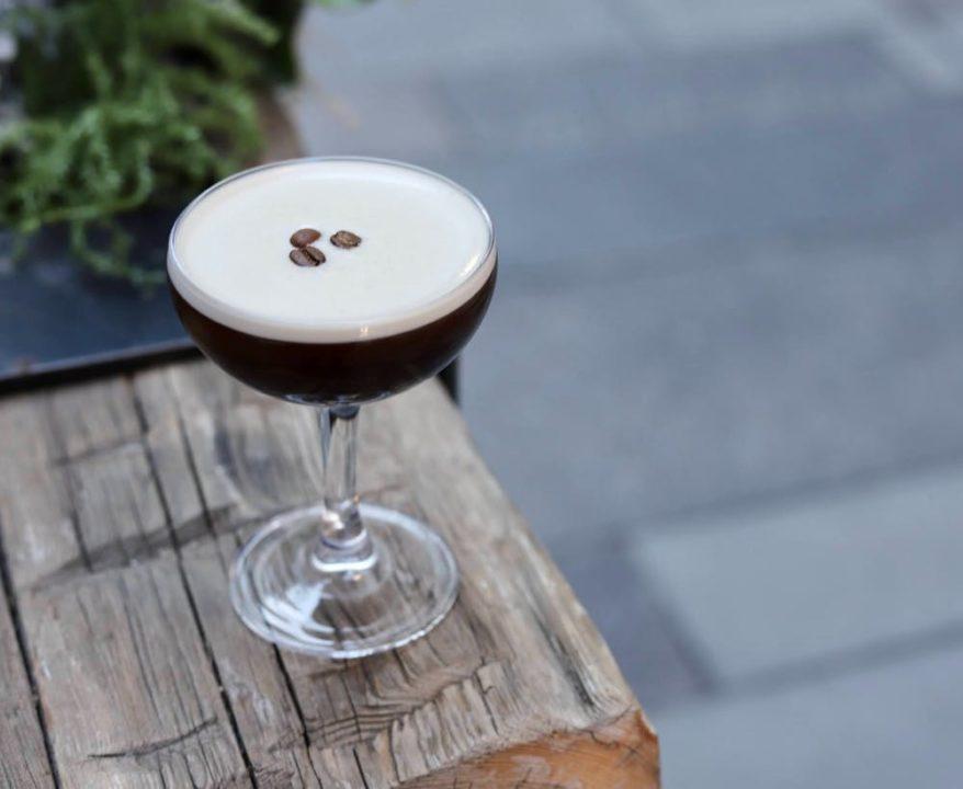 Espresso martini at Poka Lola