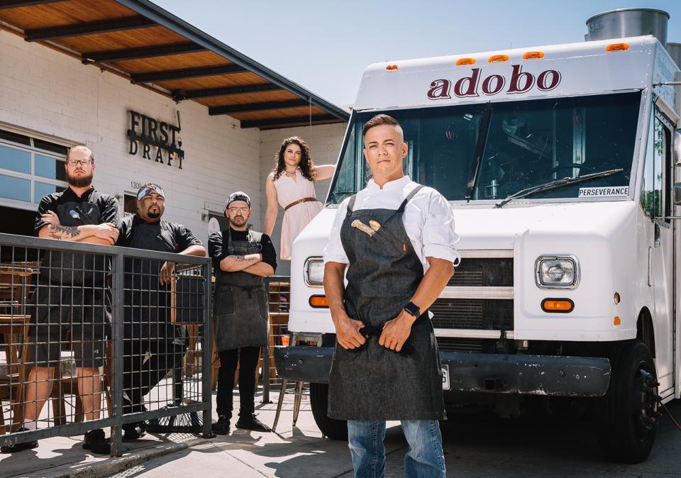 Blaine Baggao of Adobo food truck