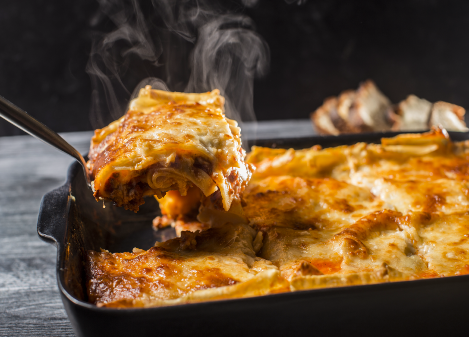 Lasagna from Curt's Table