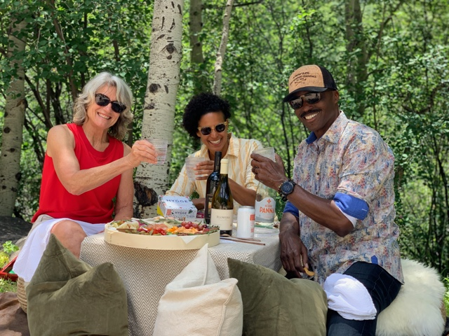 Grazing Fox picnic