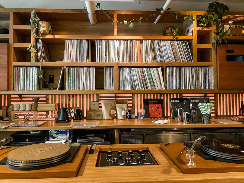 ESP HiFi cafe and bar