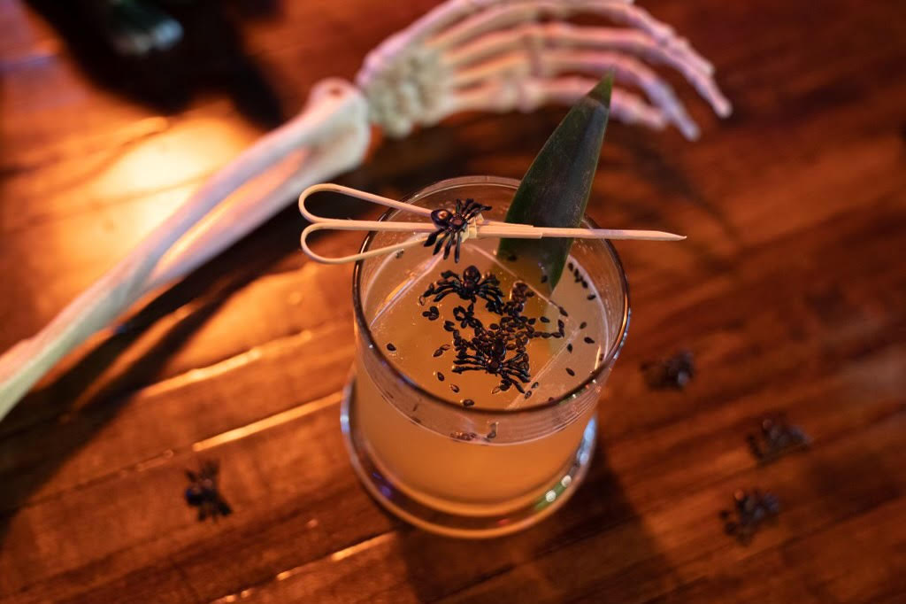 Halloween Drink at the Electric Cure. Photo courtesy of the Electric Cure