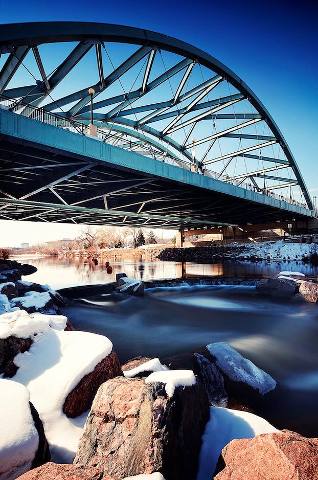 Photo of Confluence Park and Speer Bridge in Denver, Colorado