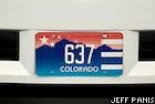 2008 DNC vanity license plate