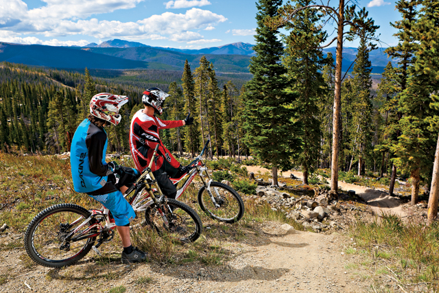 Winter Park Resort's Trestle Bike Park